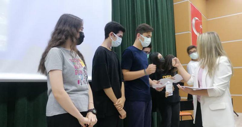 Bahçeşehir Koleji Nevşehir Kampüsü Lise Kademesinde Yurt Dışı Sunumu