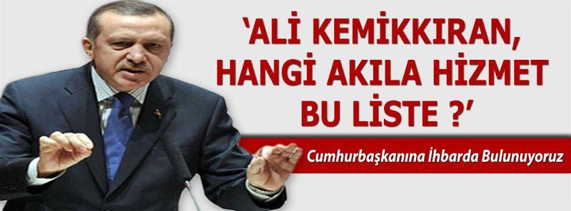 Cumhurbaşkanı FETÖ'cülerin İnlerine Gireceğiz Diyor Nevşehir AK Parti Yönetime Alıyor