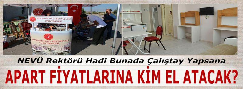 NEVÜ Rektörü Semih Aktekin Bu Konuya da Yine Sessiz Kalacak mı?
