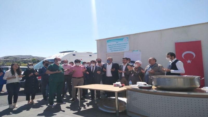 Nevşehir Devlet Hastanesinde Aşure Dağıtımı Yapıldı