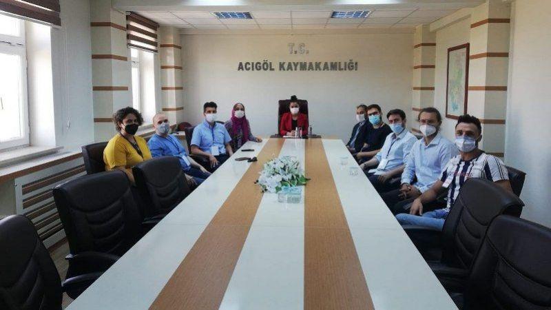 Acıgöl'de Erasmus Projesi Toplantısı Yapıldı