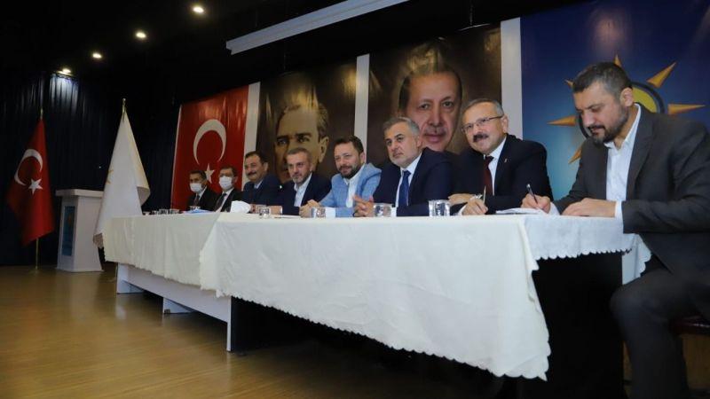 Milletvekili Açıkgöz AK Parti Tokat Yönetimiyle Bir Araya Geldi