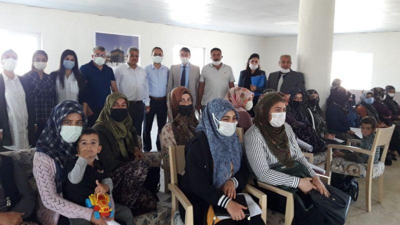 Sulusaray'da Çilek Yetiştiriciliği Kursu Açıldı