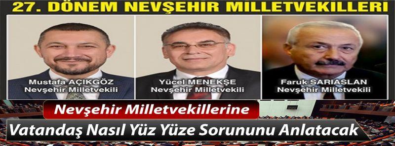 Nevşehir Milletvekillerinin, Neden Kentte Ofisleri Yok ?