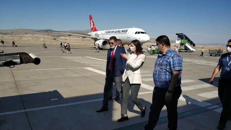 Kaymakam Polat'tan Kapadokya Havalimanı'nda İnceleme