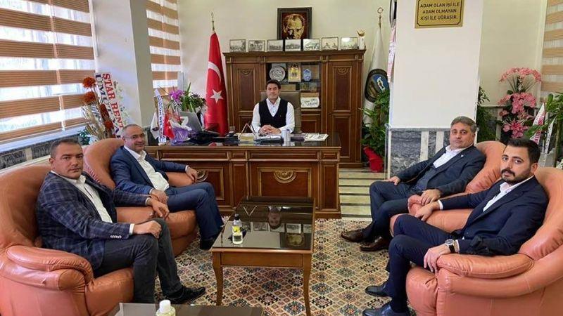 Meclis Başkanı Dinç'ten Korkutmaz'a Ziyaret