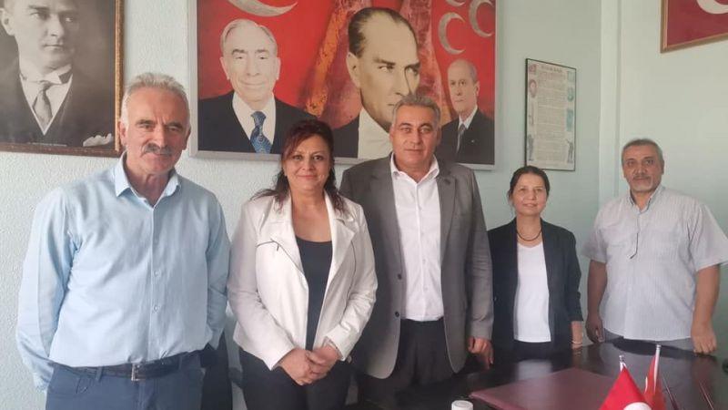 Başkan Kaya'dan MHP Ürgüp İlçe Teşkilatı'na Ziyaret