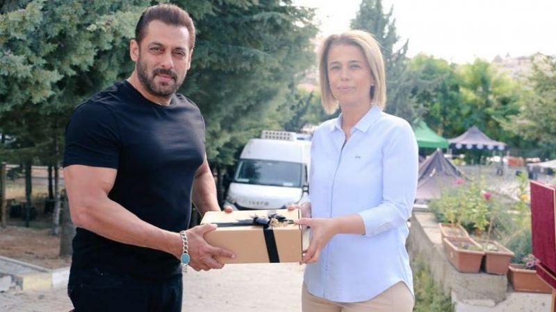 Vali Becel'den Bollywood Yıldızı Salman Khan'a Ziyaret