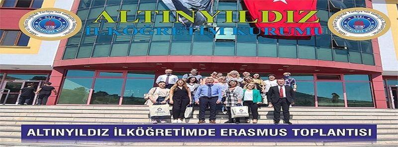 Altınyıldız İlköğretimde Erasmus Toplantısı