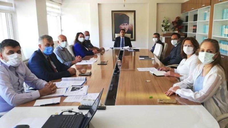 Avanos'ta Üniversite Güvenlik Koordinasyon Toplantısı