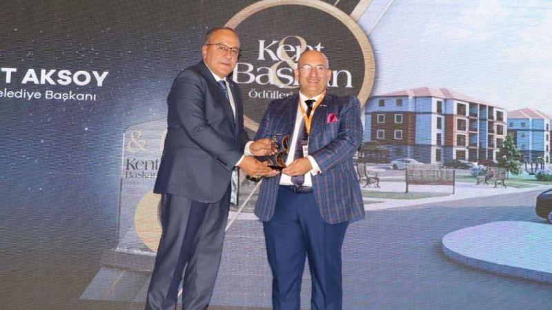 Kent ve Başkan Dergisi'nden Derinkuyu'nun Toplu Konut Projesine Ödül