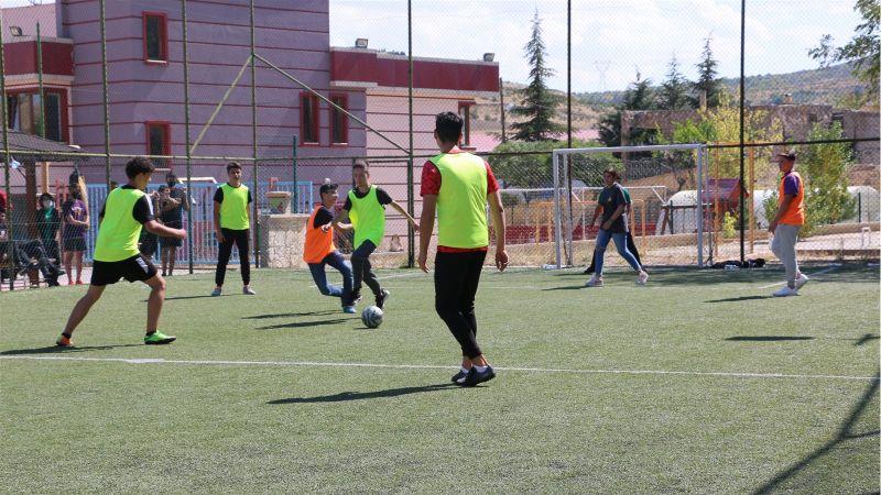 Altınyıldız Koleji Cumhuriyet Futbol Turnuvası Başladı