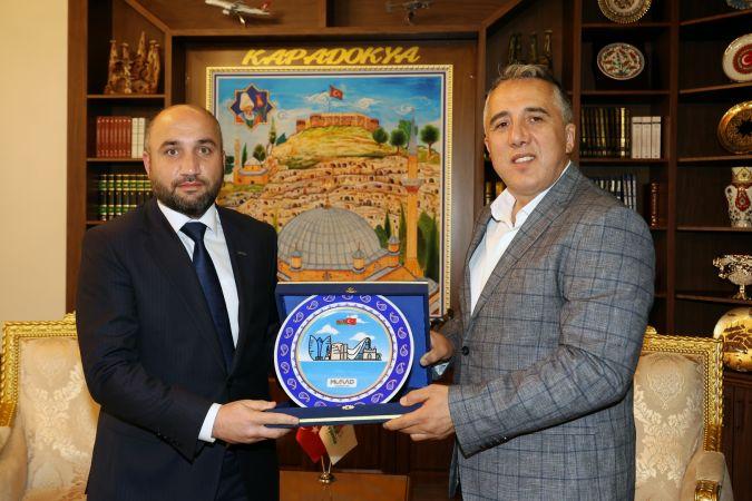 Başkan Savran'a Müsiad Azerbaycan Başkan Yardımcısı Cabirli'den Ziyaret