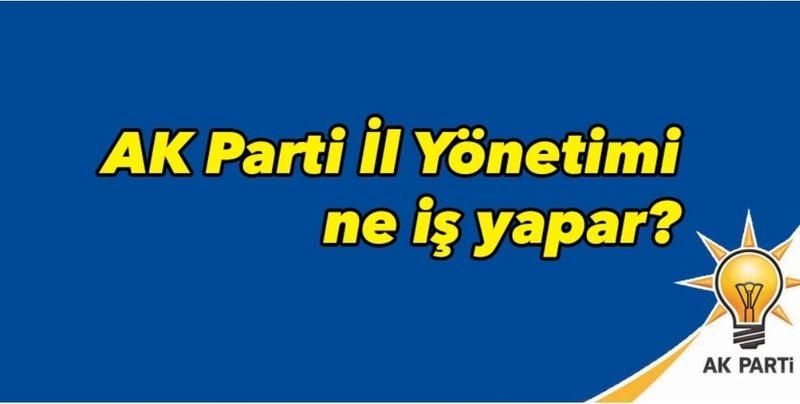 Nevşehir AK Parti İl Teşkilatı Ne İş Yapar?
