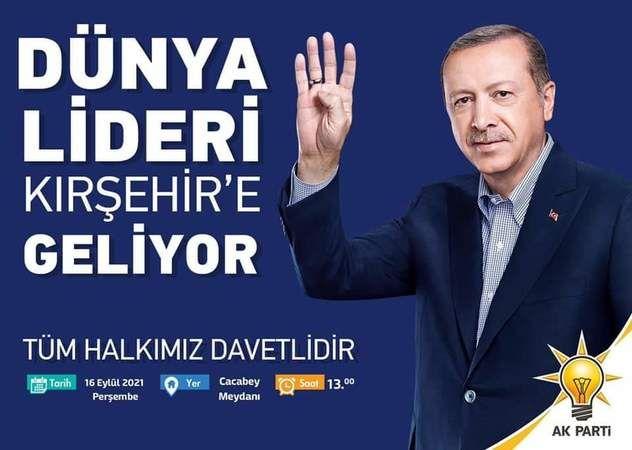 Cumhurbaşkanı Kırşehir'e Geliyor CT Haber'de Orada