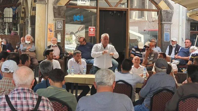 Başkan Ömer Eren Halk Toplantısı Gerçekleştirdi