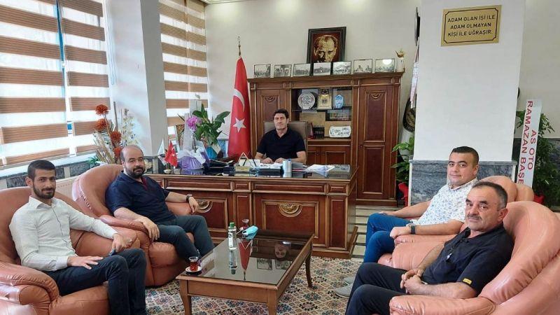 YRP Başkanı ve Yönetiminden Korkutmaz'a Ziyaret