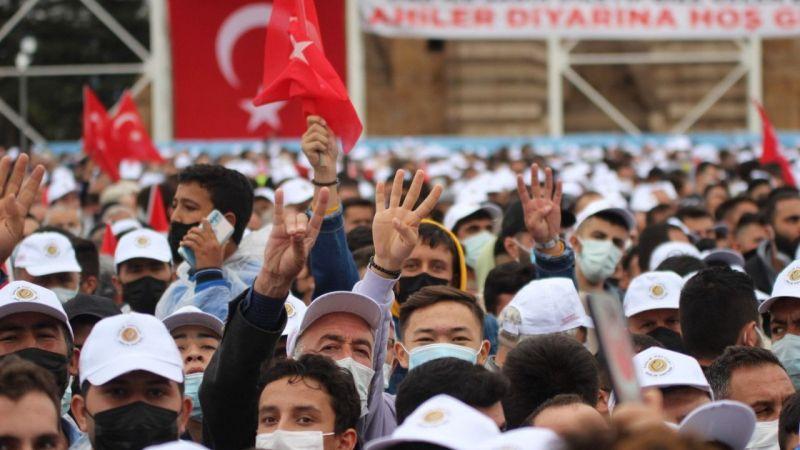 Kırşehir'de Cumhurbaşkanı Erdoğan Heyecanı Yaşandı!