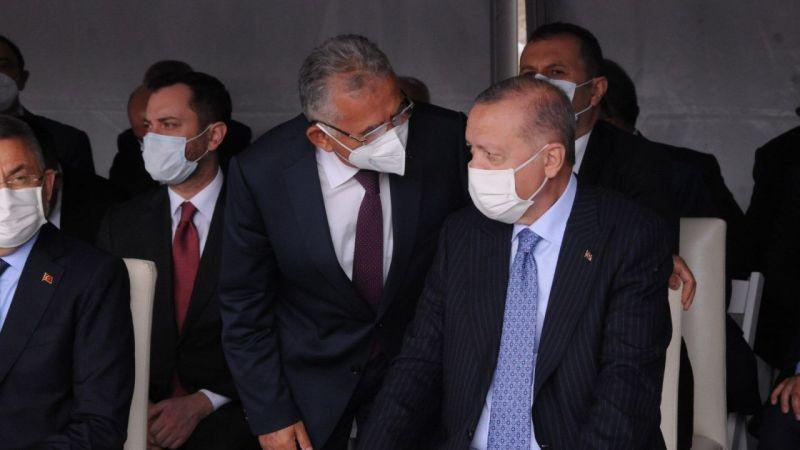 Büyükkılıç, Kırşehir'de Cumhurbaşkanı Erdoğan İle Görüştü