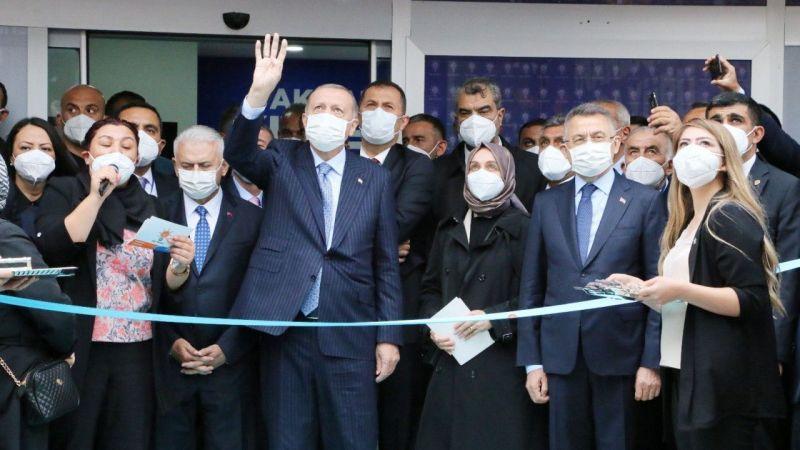 Cumhurbaşkanı Erdoğan AK Parti Kırşehir İl Başkanlığı Binasının Açılışını yaptı