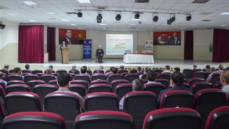 Diyanet Personel Bilgilendirme Toplantısı Yapıldı