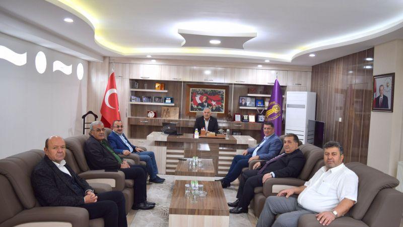Birlik ve Federasyon Başkanlarından Pınarbaşı'ya Ziyaret