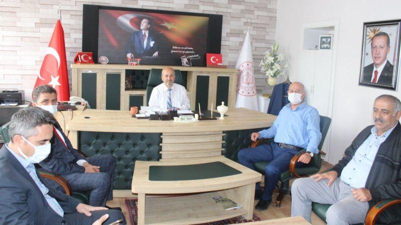 Derinkuyu'da Kurum Müdürleri Toplandı
