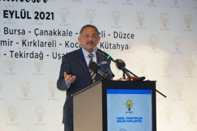 AK Parti Genel Başkan Yardımcısı Özhaseki'nden Algı Çıkışı