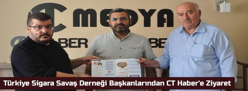 Türkiye Sigara Savaş Derneği Başkanlarından CT Haber'e Ziyaret