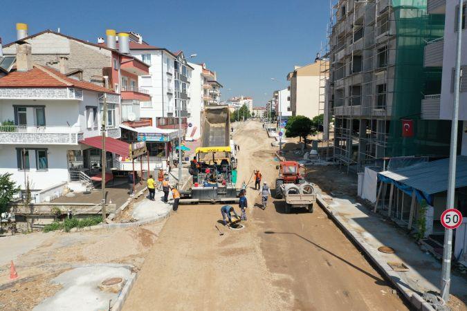 Altyapı Çalışmaları 15 Temmuz ve 2000 Evler Mahallelerinde Tamamlandı