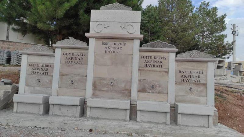 Hacıbektaş'a Hayır Çeşmeleri Açıldı