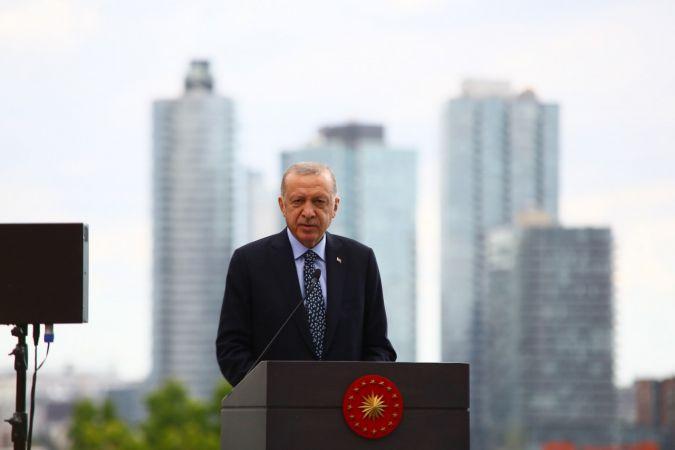 Erdoğan, New York'un Merkezindeki Türkevi'ni Açtı