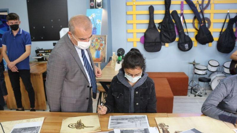 Bilim Atölyesi ve Kültür-Sanat Atölyesi'nin Açılışı Yapıldı