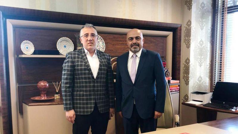 Başkan Savran'dan Baro Başkanı Murat Boz'a Ziyaret