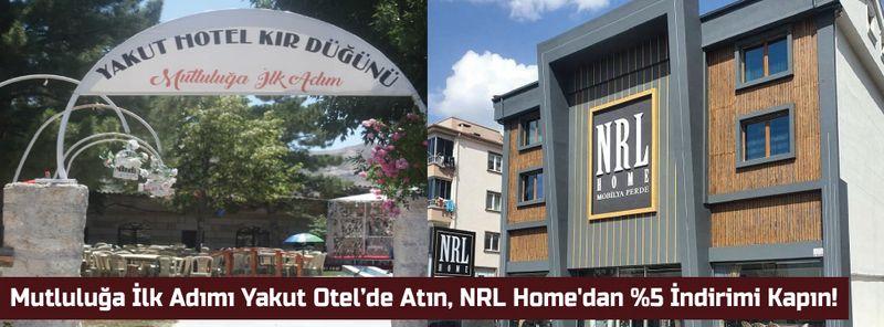 Mutluluğa İlk Adımı Yakut Otel'de Atın, NRL Home'dan %5 İndirimi Kapın!