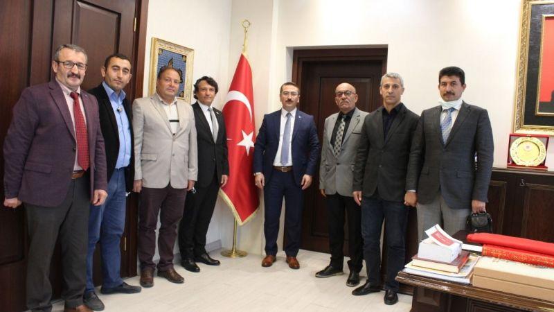 Kamu-Sen'den Başsavcı Çınar'a Ziyaret