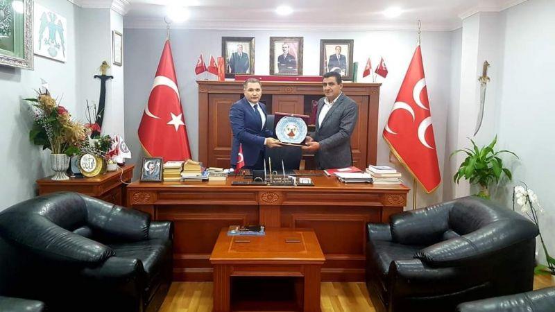 Tatlarin Belediye Başkanı Selvi'den MHP İstanbul Birimlerine Ziyaret