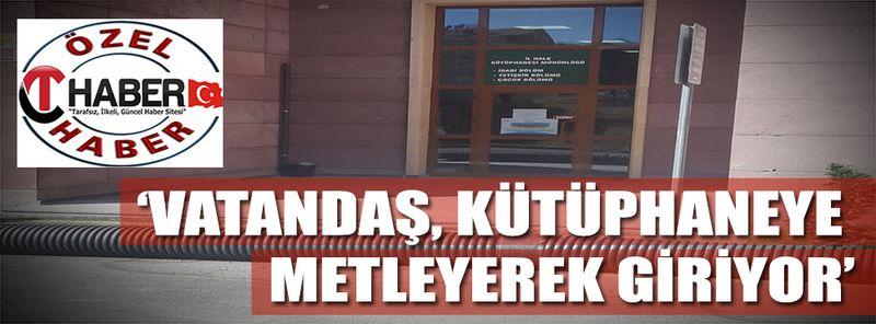Nevşehir'de Buda Oldu? Kamu Kurumuna Boru Döşediler