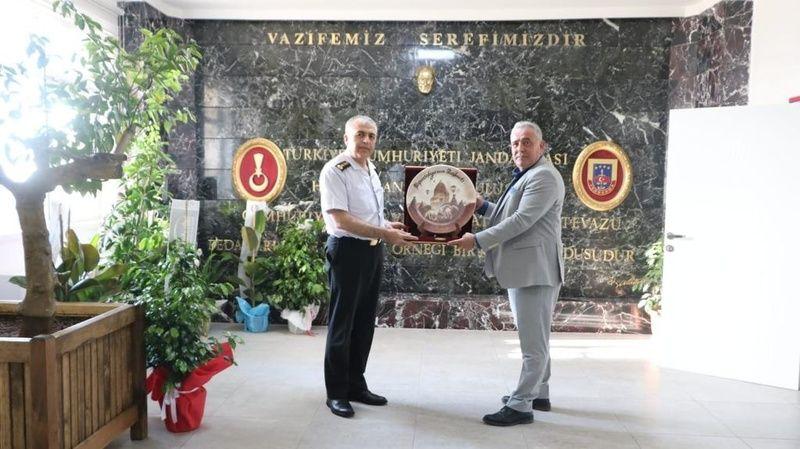 Başkan Eren'den JAKEM Komutanına Hayırlı Olsun Ziyareti!