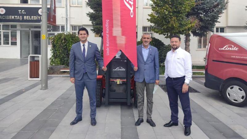 Hacıbektaş'a 300 Bin TL'lik Hibe İş Makinesi!