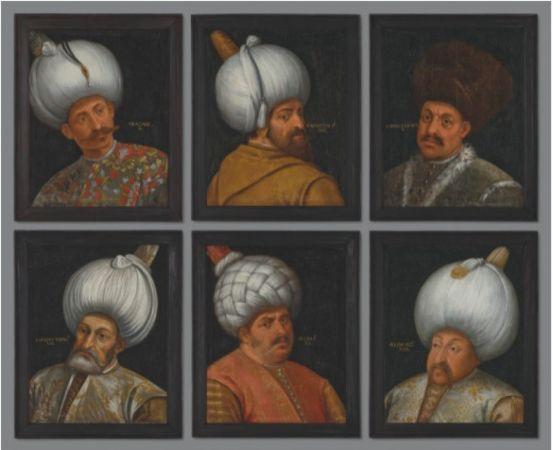 Osmanlı Padişahlarına Ait 6 Portre Satışa Sunulacak