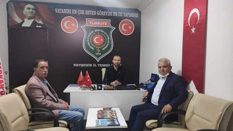 CHP Heyetinden Gazi Didinmez'e Ziyaret!