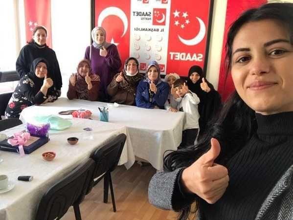 Saadet Partili Kadınlar Çalışıyor