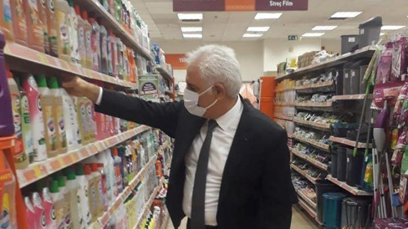 İl Müdürü Taygurt'tan Gıda Denetimi