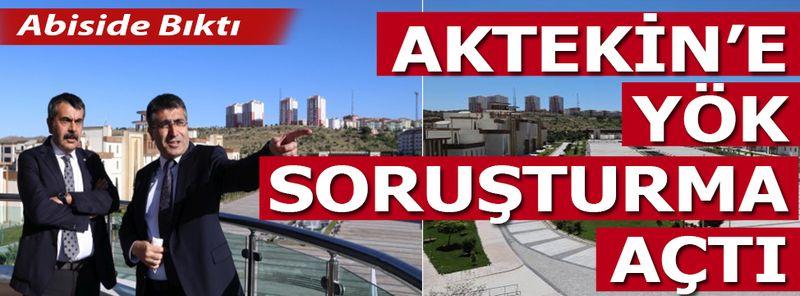 NEVÜ Rektörü Semih Aktekin'den YÖK de Bıktı!