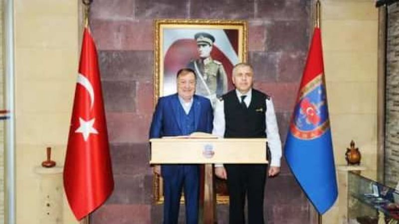 Başkan Parmaksız'dan Komutan Yakın'a Hayırlı Olsun Ziyareti