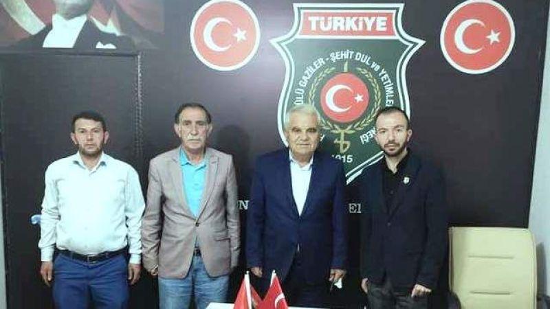 Başkan Gülmez'den Didinmez'e Hayırlı Olsun Ziyareti