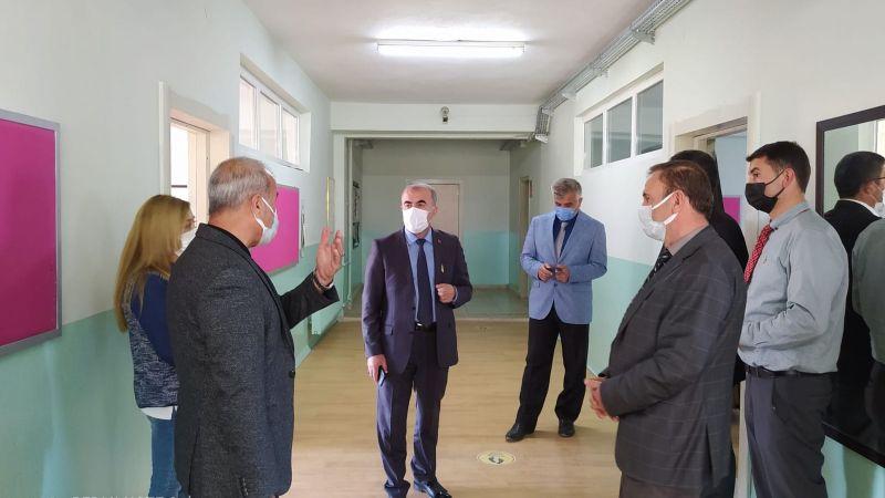 İl Müdürü Murat Demir Avanos'da Okulları İnceledi