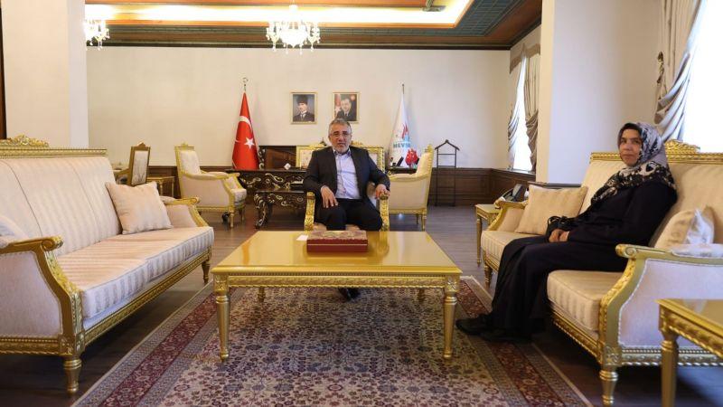 Mil-sen'den Başkan Savran'a Ziyaret