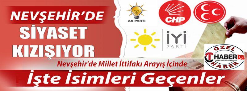 Nevşehir'de Siyaset Hareketlendi - İşte Milletvekilliği Düşünen İsimler